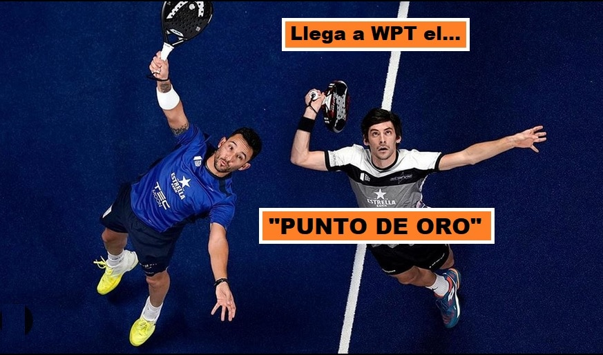 Punto de Oro en World Padel Tour